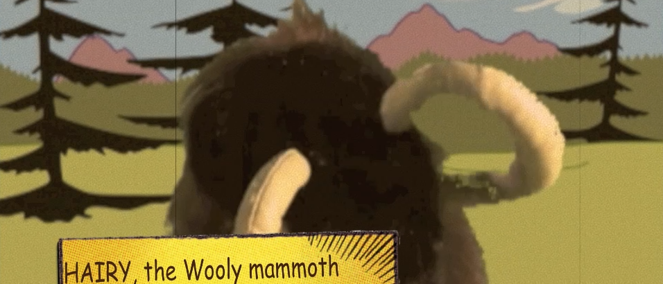 Comments from the Koala 45: from the Archives, Wooly Mammoth